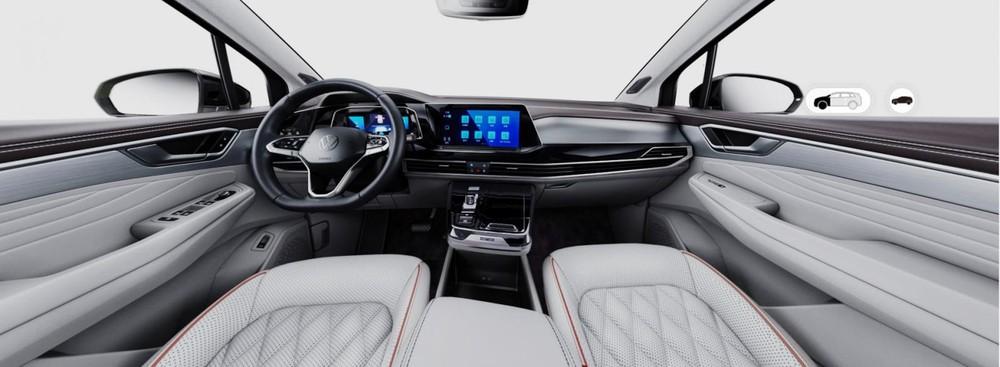 Nội thất bên trong Volkswagen Talagon
