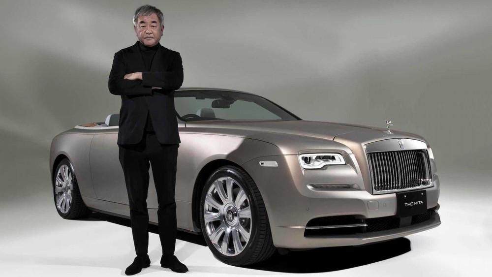 Kiến trúc sư Kengo Kuma và chiếc Rolls-Royce Dawn độc nhất vô nhị