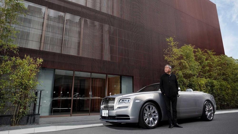Chiếc Rolls-Royce Dawn này mang chi tiết thiết kế lấy cảm hứng từ dinh thự The Kita ở Tokyo, Nhật Bản