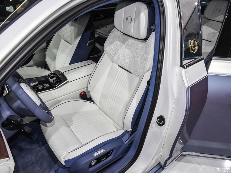 Ghế trước của Hồng Kỳ H9+ White Magnolia Custom Edition