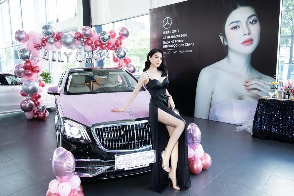 Chiếc xe siêu sang Mercedes-Maybach S450 4Matic của Ngọc nữ bolero Lily Chen