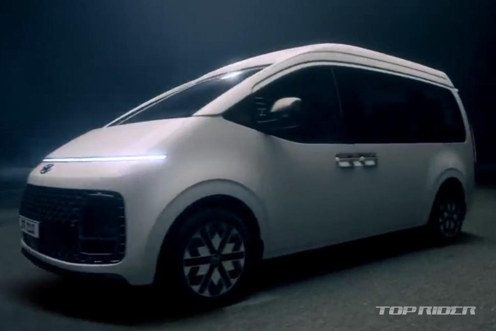 Hyundai Staria Limousine 2021 được hé lộ trước khi ra mắt