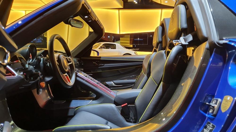 Đây là chiếc xe hypercar hiếm hoi của hãng Porsche