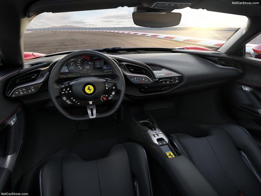 Nội thất siêu xe Ferrari SF90 Stradale