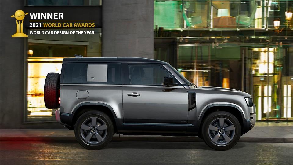 Land Rover Defender đạt giải Thiết kế ô tô của năm 2021