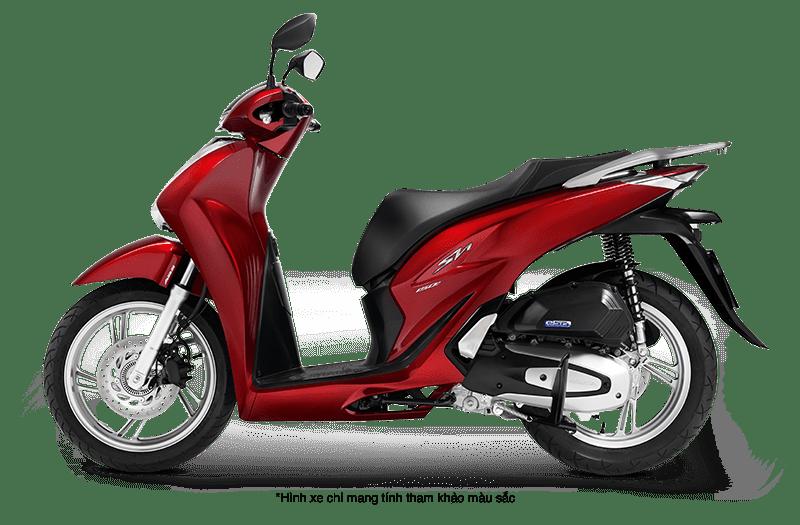 Xe Honda SH 2021 màu đỏ
