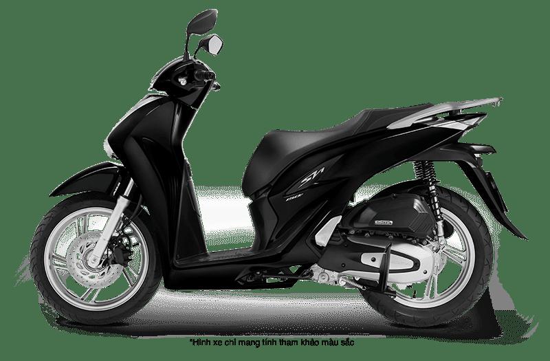 Xe Honda SH 2021 màu đen