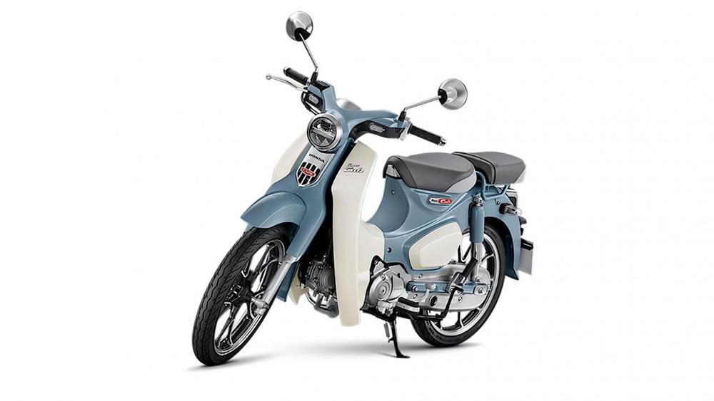 Honda Super Cub C125 2021 xanh da trời