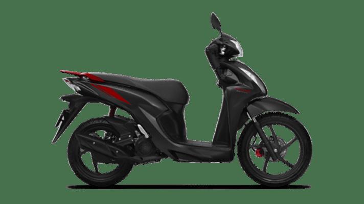 Honda Vision cá tính đỏ đen