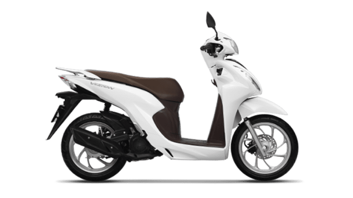 Honda Vision cao cấp trắng