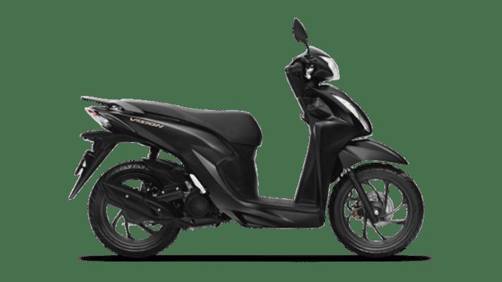 Honda Vision đặc biệt đen