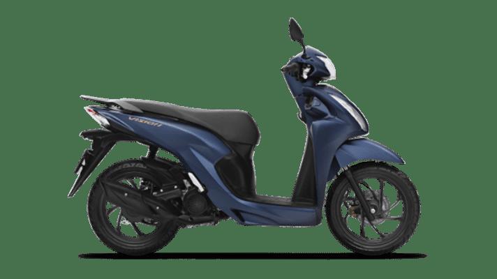 Honda Vision đặc biệt xanh