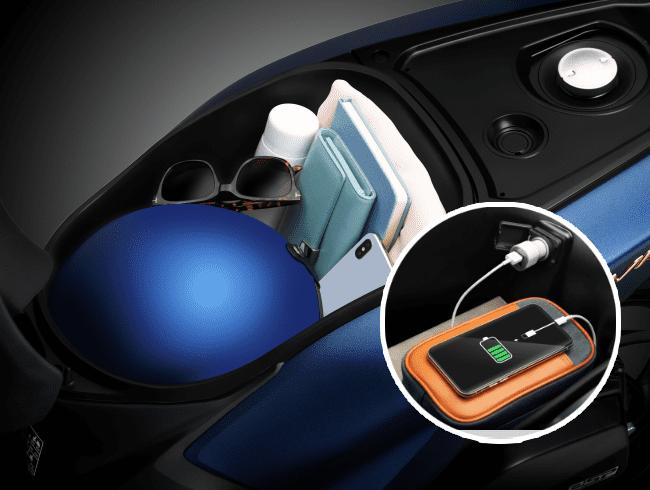 Cốp xe Honda Visision 2021