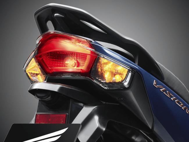 Đuôi xe Honda Vision 2021