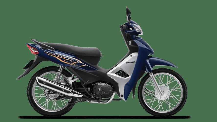 Honda Wave Alpha 110 2021 màu xanh thẫm đen bạc