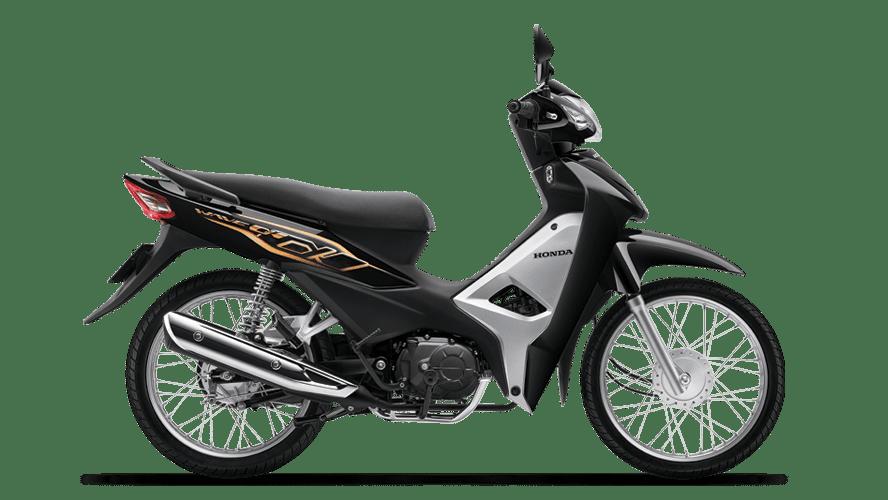 Honda Wave Alpha 110 2021 màu đen bạc