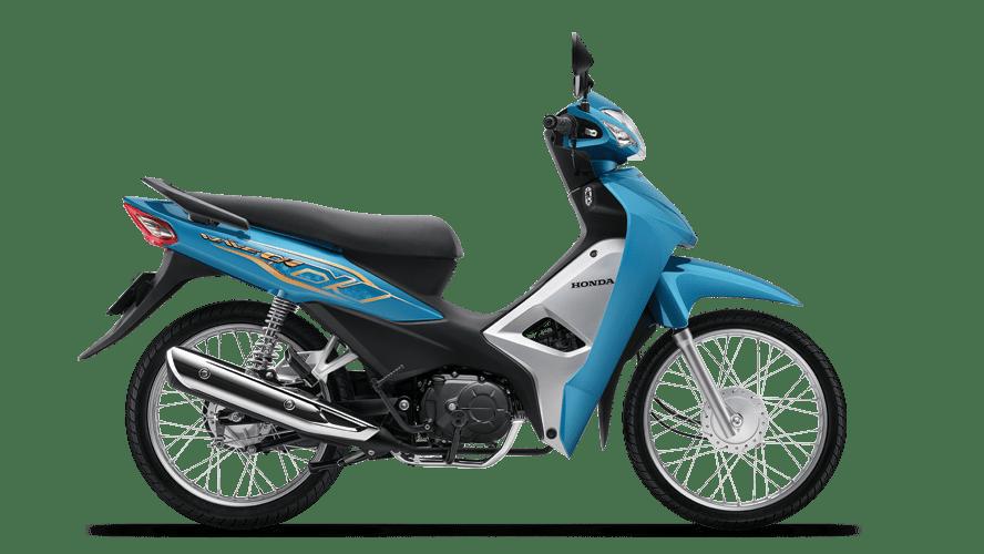Honda Wave Alpha 110 2021 màu xanh đen bạc