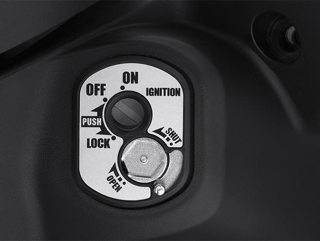 Ổ khóa chống gỉ của xe Honda Wave Alpha 110