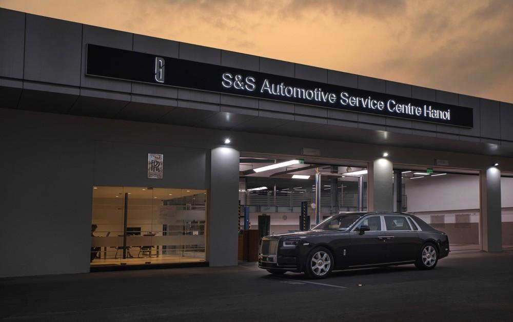 Cơ sở dịch vụ Rolls-Royce Motor Cars tại Hà Nội đã hoàn thiện việc nâng cấp và bắt đầu hoạt động trở lại.
