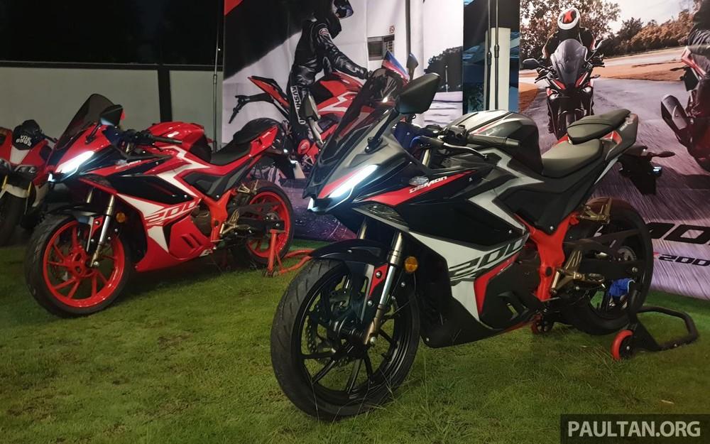 GPX Demon GR200R 2021 có mức giá bán rất tốt tại Malaysia