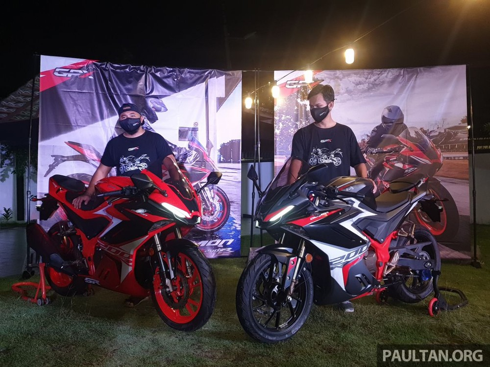 GPX Demon GR200R 2021 chính thức ra mắt tại Malaysia