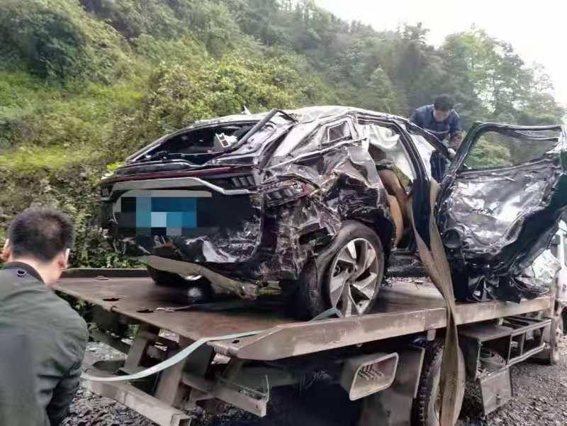 Nhiều người tưởng rằng chiếc xe trong vụ tai nạn là Audi Q8 hoặc Volvo