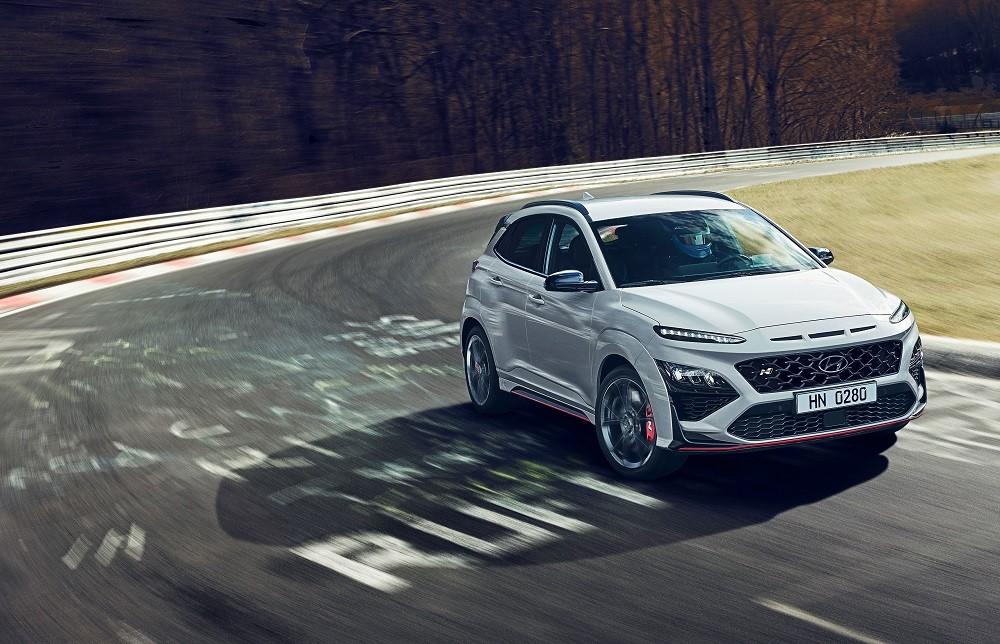 Hyundai Kona N 2021 chính thức ra mắt