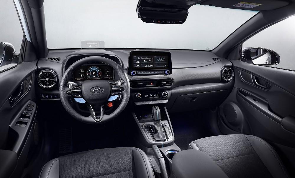Nội thất bên trong Hyundai Kona N 2021