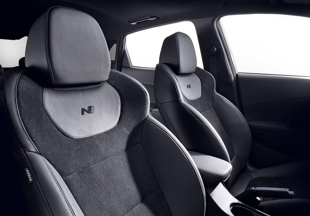 Hyundai Kona N 2021 có ghế thể thao