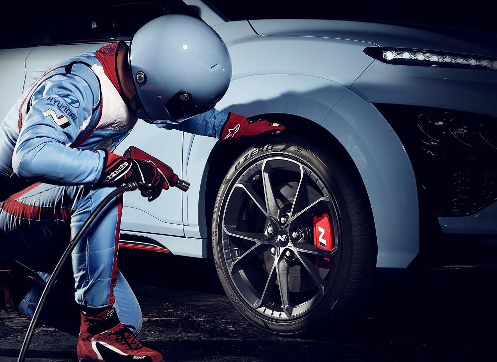 Vành siêu nhẹ của Hyundai Kona N 2021