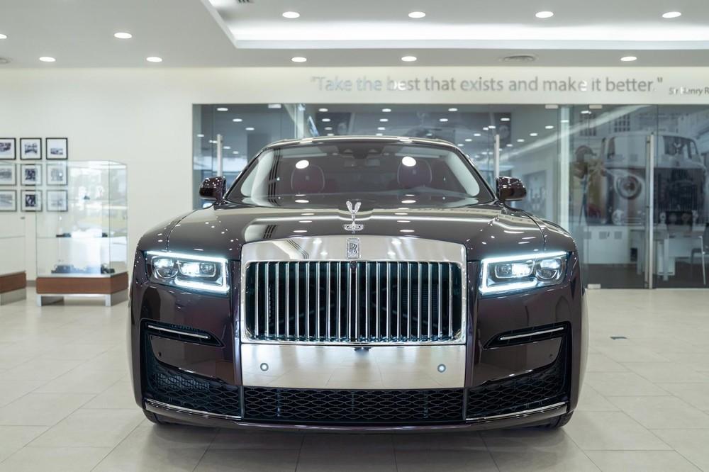 Rolls-Royce Ghost 2021 chính hãng ở Campuchia