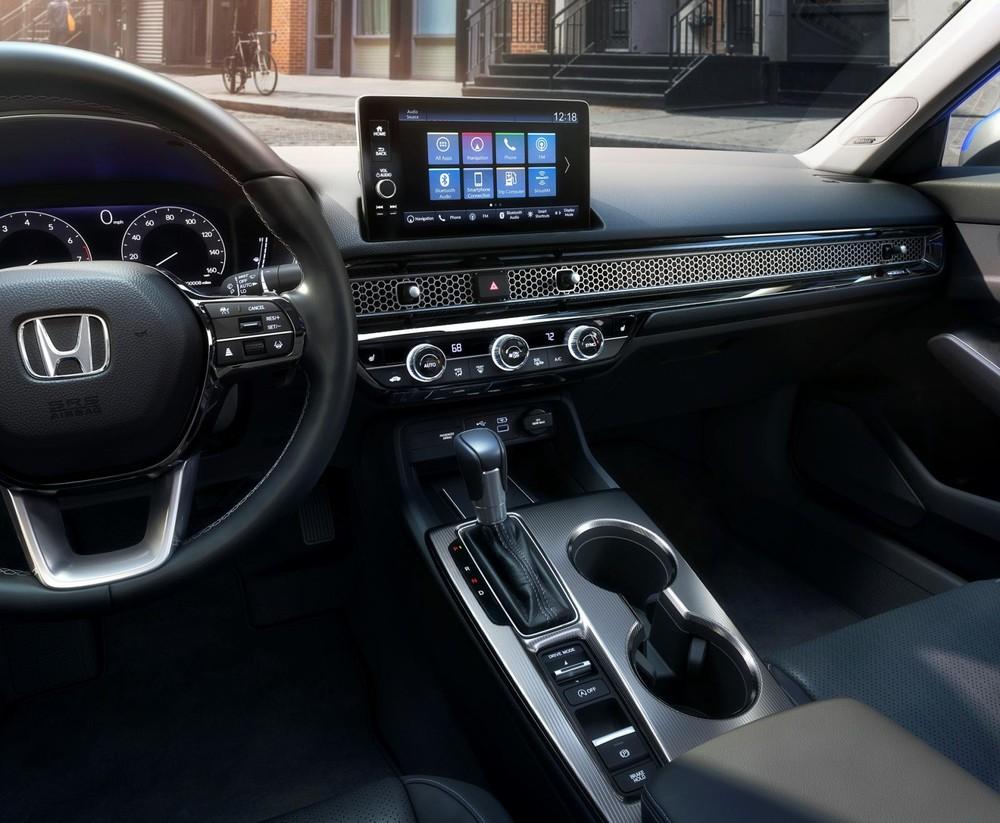Nội thất bên trong Honda Civic 2022