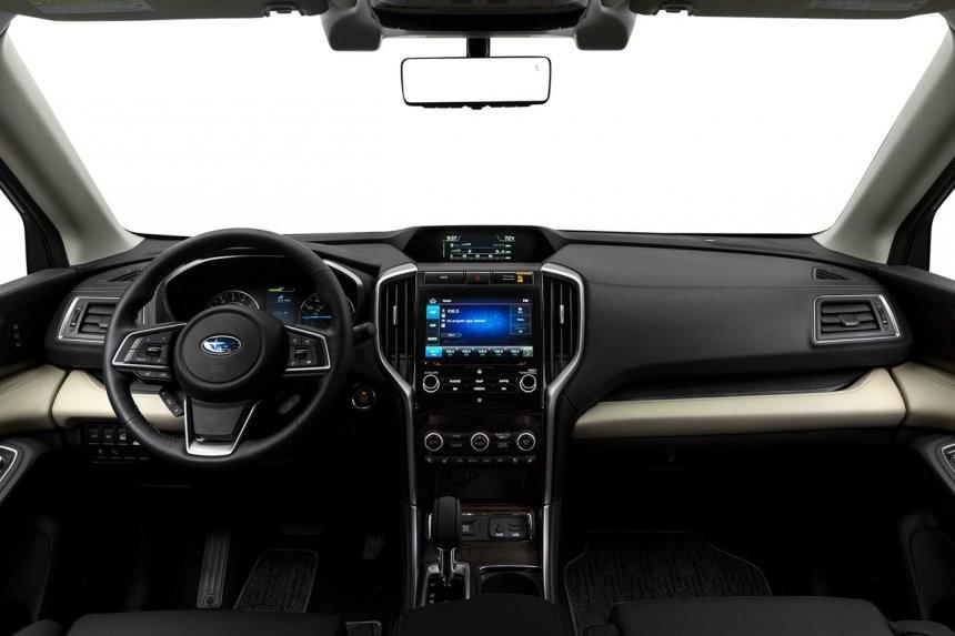 Khoang lái của Subaru Evoltis 2021