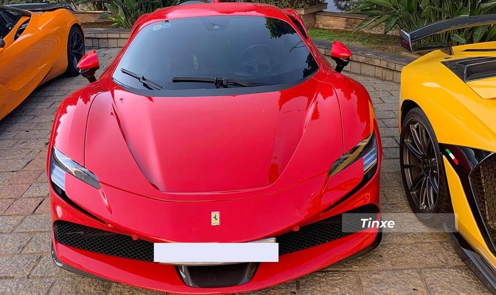Đây là chiếc siêu xe Ferrari SF90 Stradale đầu tiên ở Việt Nam ra biển số