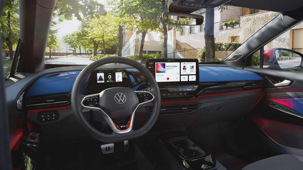 Nội thất bên trong Volkswagen ID.4 GTX 2021
