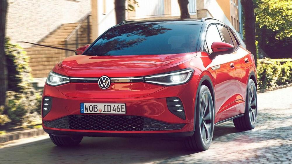 Volkswagen ID.4 GTX 2021 trình làng tại châu Âu