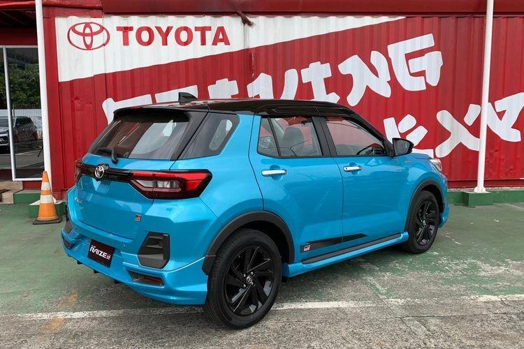 Toyota Raize 2021 nhìn từ đằng sau