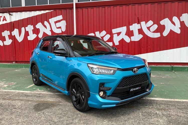 Toyota Raize 2021 bản cao cấp nhất có hệ thống an toàn chủ động Toyota Safety Sense