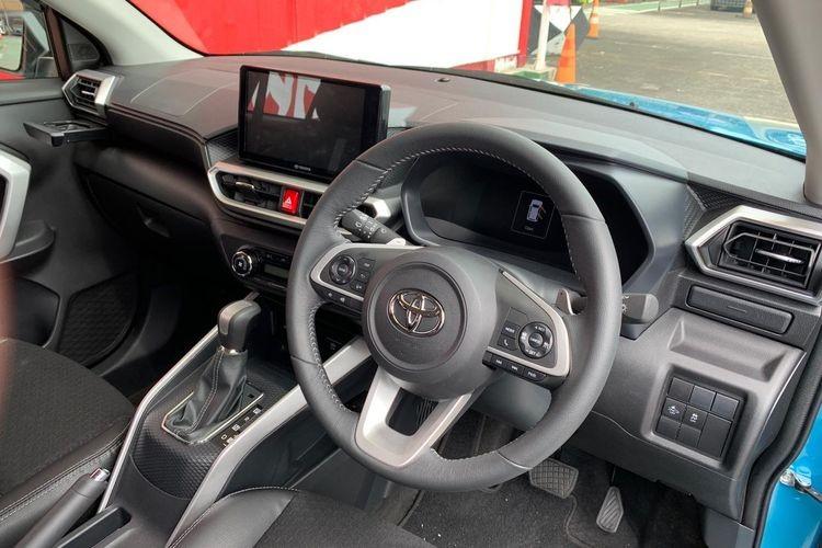 Nội thất bên trong Toyota Raize 2021