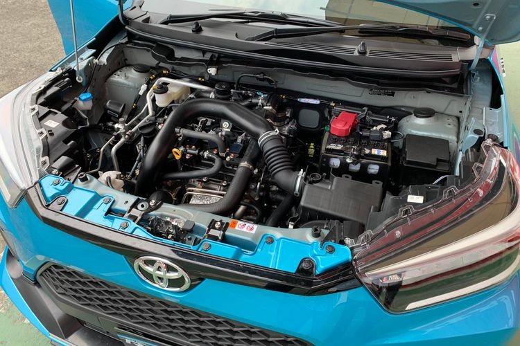 Động cơ tăng áp của Toyota Raize 2021