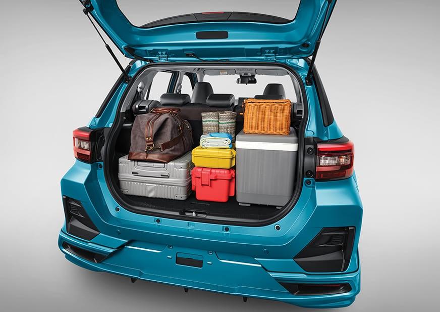 Khoang hành lý của Toyota Raize 2021