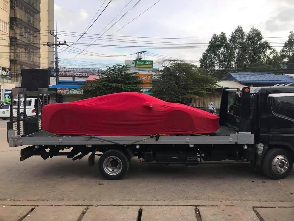 Có thể xe được đưa về Campuchia làm các thủ tục để tiếp tục lăn bánh ở Thái Lan