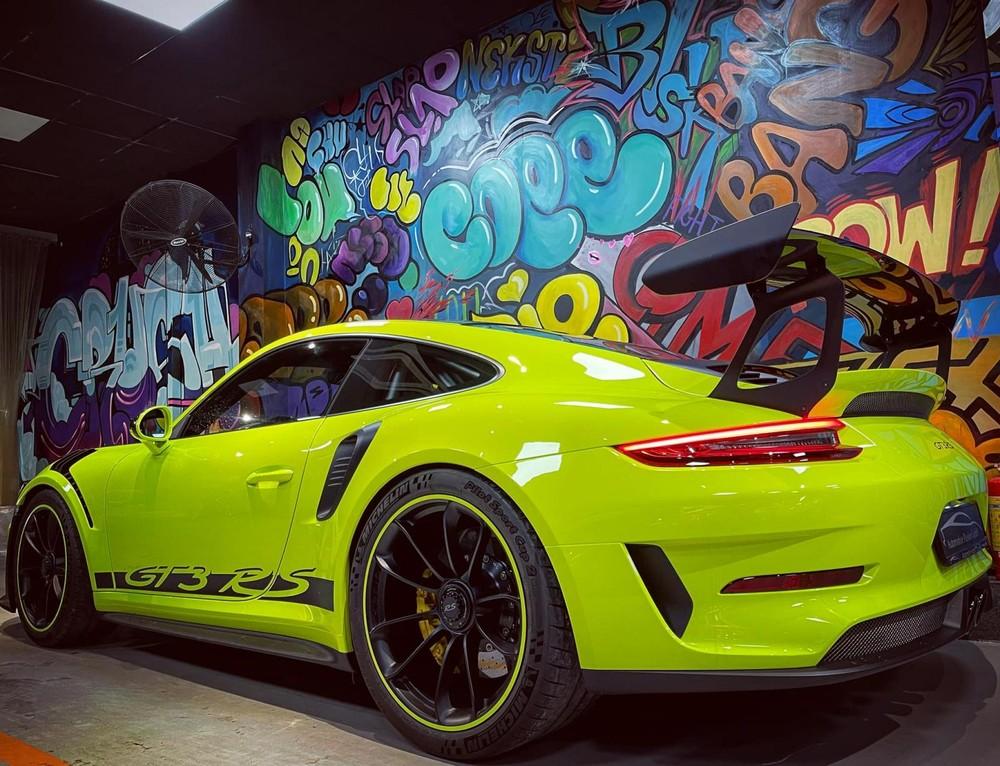 Porsche 911GT3 RS bản nâng cấp có công suất 520 mã lực