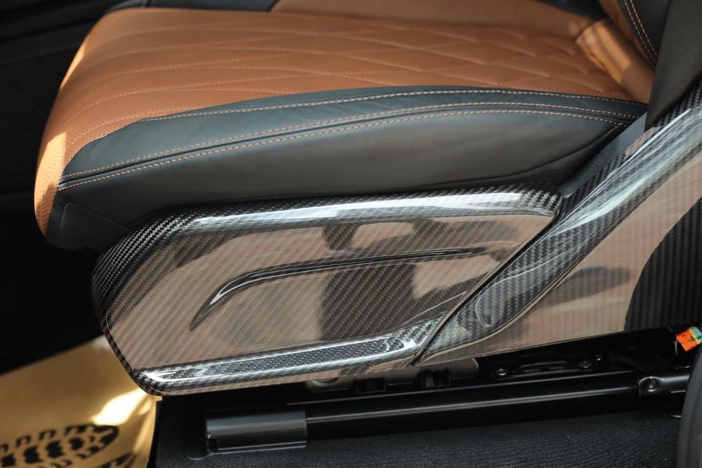 Các chi tiết bằng nhựa sẽ được thay bằng carbon trên Hofele HG63
