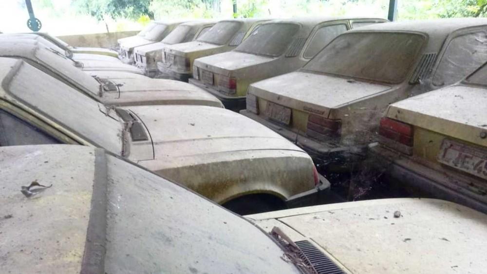 Những chiếc ô tô này chủ yếu thuộc phiên bản 1992 và 1993