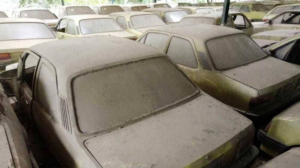 Những chiếc xe này đều là taxi nghỉ hưu