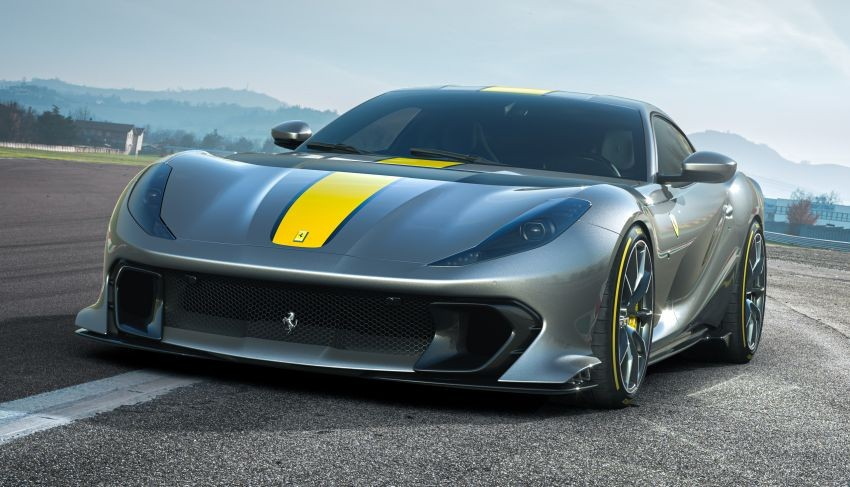 Cận cảnh thiết kế đầu xe của Ferrari 812 Competizione