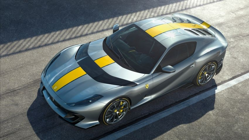 Ferrari 812 Competizione mạnh hơn 30 mã lực so với 812 Superfast