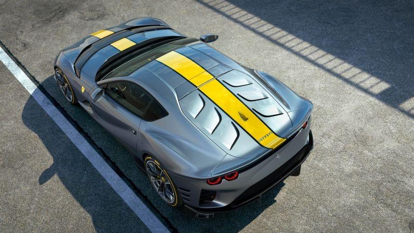 812 Competizione là siêu xe thương mại có vòng tua máy cao nhất của Ferrari