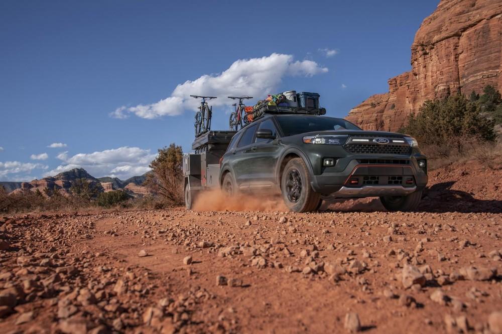 Ford Explorer Timberline 2021 có trang bị an toàn hiện đại và đầy đủ